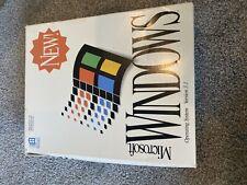 Microsoft Windows 3.1 Box And Manuals