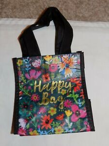 Natural Life Floral Happy Bag Tiny Gift or Multi-Use Tote