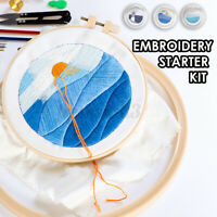 DIY Embroidery Kit for Beginner Sun Pattern Cross Stitch Needlework   AU