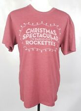 Radio City Rockettes Christmas Spectacular T-Shirt M Red New York Tee