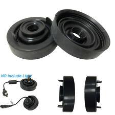 80mm Rubber Car Headlight Bulb Cover Waterproof Dustproof Cap Black Universal
