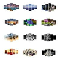 Set of 5Pcs Canvas Decorative Home Wall Art Painting Picture Print No Framed