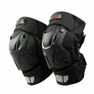 Adult Motorcycle Motocross Knee Pads Guard Armor Protect Gear Dirt Bike Offroad