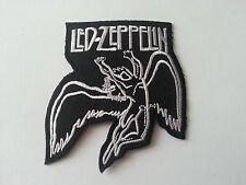 HEAVY METAL PUNK ROCK MUSIC SEW / IRON ON PATCH:- LED ZEPPELIN (b) PATCH No 0032