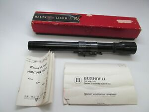 Vintage Bausch & Lomb Baltur  Rifle Scope 2 1/2 X and mount Rochester, NY