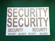 Pacchetto di adesivi di sicurezza magnetica PORTIERE cane Handler Portiera MAGNETI X 8