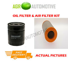 DIESEL SERVICE KIT OIL AIR FILTER FOR IVECO DAILY 35S11 2.8 106 BHP 1999-06