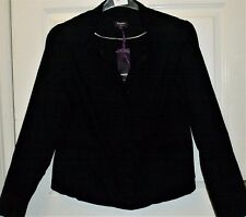 NEW BLACK NEW LOOK CASUAL JACKET SIZE 18 # 583