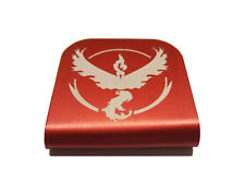 Pokemon Go Team Valor Hat Clip - Red for Tactical Patch Caps by Morale Tags