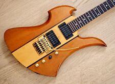 1980s BC Rich Mockingbird Electric Guitar MB-1101N w/ Floyd Rose, Duncan SH-4 JB