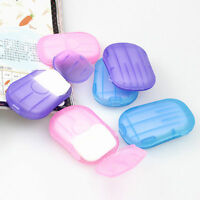 Travel Hand Confetti Soap Paper Laundry Washing Wash Packet Sheets 20 Pcs E