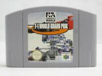 F1 World Grand Prix N64 Nintendo 64 Cartridge Only PAL