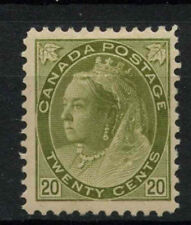 Canada 1898-1902 SG#165, 20c Olive-Green QV MH #A74200