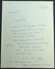 Jean COCTEAU autographe / Oratorio PATMOS #5