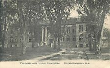Englewood, New Jersey - Franklin High School - Vintage Postcard View