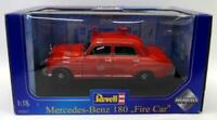 Revell 1/18 Scale Diecast - 08807 Mercedes Benz 180 Fire Car