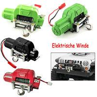 Elektrische Winde Für 1:10 Traxxas TRX4 Axial SCX10 D90 D110 TF2 KM2 RC Crawler