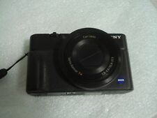Very Nice Sony Cybershot DSC-RX100 20.2 MP Digital Camera - Black