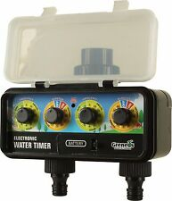 DVS203 Greneds 2 ZONE  LCD EASY Water Timer (3~145psi ,Solenoid)