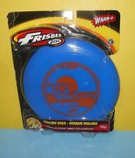Never Used Blue Wham-O Frisbee Disc Malibu Beach Flyer (2014) ~ 100 gram