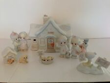 PRECIOUS MOMENTS SUGAR TOWN DR DOCTOR OFFICE SET COLLECTABLE CHRISTMAS