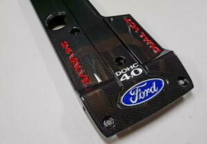 Ford Falcon BA BF Custom Carbon Fibre Style Engine Coil Cover XR6 NA Genuine!!