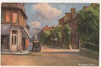 High Street Sutton, Surrey Art Postcard, B667