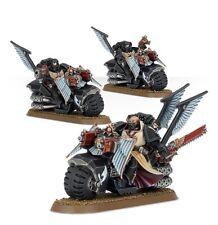 Warhammer 40k Dark Vengeance Dark Angels Ravenwing Bike Squad