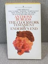 Anthony Burgess / THE CLOCKWORK TESTAMENT OR ENDERBY'S END First Edition 1976