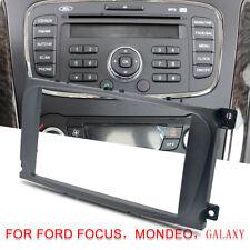 Ford Black Double DIN Car CD Radio Plate Stereo Facia Fascia Adaptor Panel
