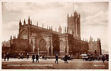 BR59895 cathedral north east car voiture  manchester  real photo  uk