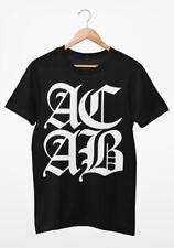 Ye Olde AC/AB T Shirt Antifa Hooligans Punk Anarchy (organic & sweatshop-free)