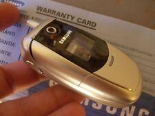 Cellulare SAMSUNG SGH-E300 e300 originale ORANGE  nuovo ricondizionato grado A