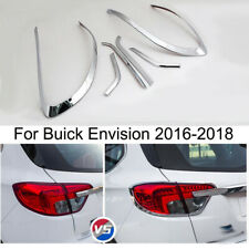 Chrome Car Rear Tail Light Cover Trim Bezel Molding For Buick Envision 2016-2018