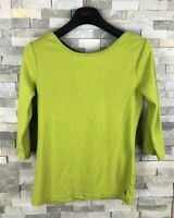 Joules Ladies Size 12 Lime T Shirt Top