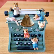 Spieluhr  *Schreibmaschine mit Bärchen* von Spieluhrenwelt