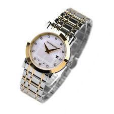 100% NEW Burberry Heritage Ladies 2Tones Bracelet Diamond Watch BU1375
