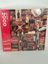 Coca Cola Centennial 2000 Piece Puzzle - Vintage 1986 - Coke Is It - Springbok