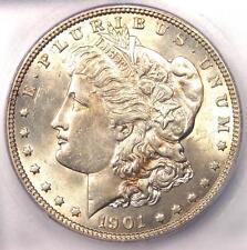 1901 Morgan Silver Dollar $1 Coin. ICG MS62 (Rare in UNC BU). $6,910 Guide Value