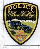 California - Bear Valley CA Police Dept Patch