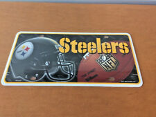 Pittsburgh Steelers Metal Novelty License Plate Car Truck Tag NFL Football