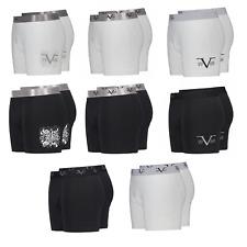 VERSACE 1969 Herren Boxershorts Unterhose Retro Pants S-XXL Black/ White Neu!