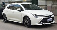 Toyota Corolla Hatch 2018-2020 Slimline V1 Window Visors/Weathershields Set 4PC