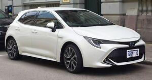 For Toyota Corolla Hatch 2018-2021 Slimline Window Visors/Weathershields (4PCS)