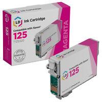 LD T125320 125 Reman Magenta Ink Cartridge for Epson Printer