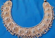 Vintage Tibet  Asia   Cleopatra Collar 800 - 950  silver Necklace Choker