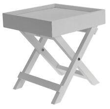 Dekorativer Beistelltisch   Weiss   Holz Tisch Klein Ablagetisch Deko  Nachttisch