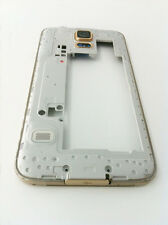 GOLD Middle Frame Housing Bezel Camera Lens Part For Samsung Galaxy S5 G900F