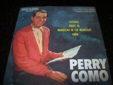 """7"""" EP 45 P/S - PERRY COMO - ROUTE 66 + 3 - BRAZIL"""