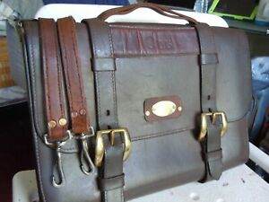 Vintage Orvis Leather Orvis/Gokey Briefcase Made in USA    10